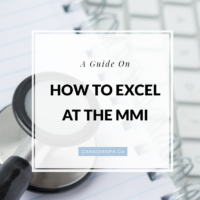 Guide on how to excel at the MMI