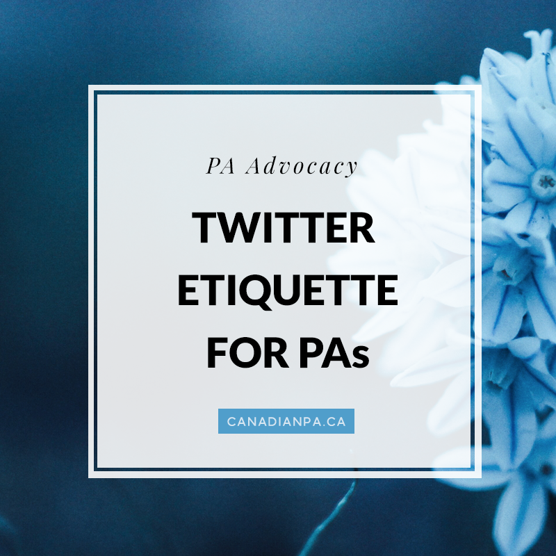 Twitter Etiquette for Physician Assistants