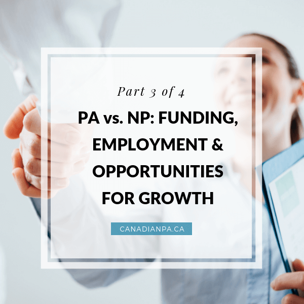 NP vs PA Funding Employment Opportunities for Growth