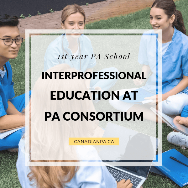INTERPROFESIONAL education at PA Consortium aurthi physician assistant