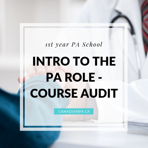Intro to the Physician Assistant Role Aurthi PA Consortium